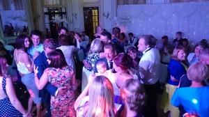 & the dance floor over full in the Louis Room