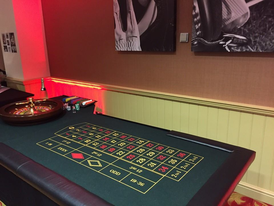 casino table hire worsely