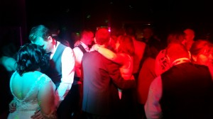 Still playing to a packed dance floor right up till the last dance!