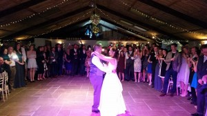 wedding dj owen house wedding barn