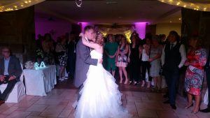 First dance of Mr & Mrs Deane