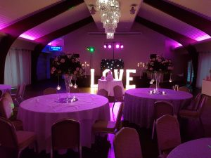 wedding dj colshaw hall