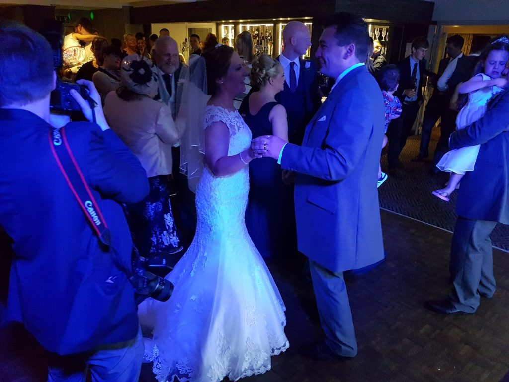 wedding dj wrightington hotel