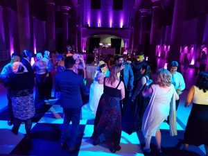 wedding party monastery manchester