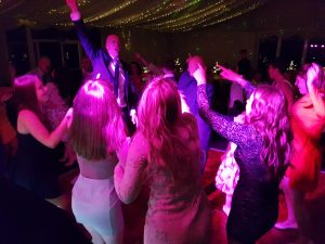 wedding dj staining lodge golf