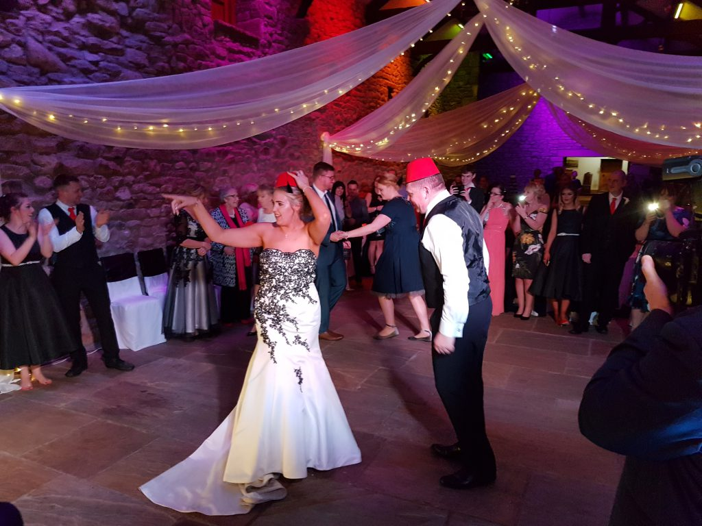 wedding dj tithe barn clitheroe