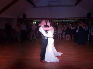 wedding dj stables country club