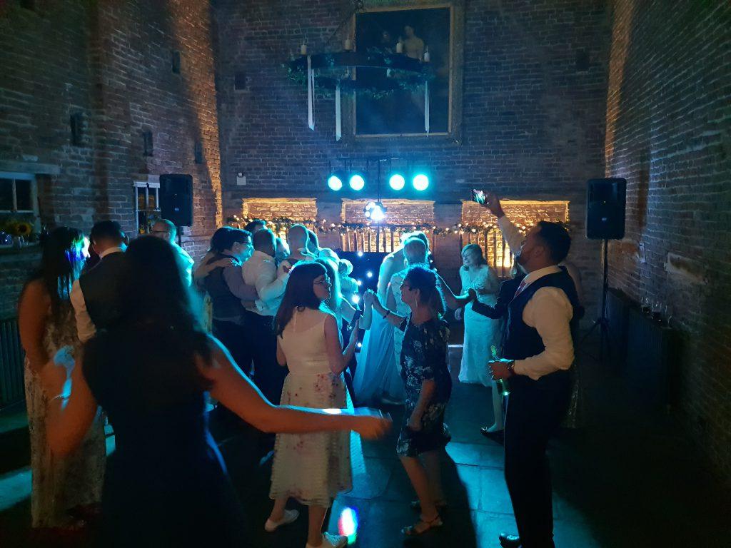 wedding dj meols hall
