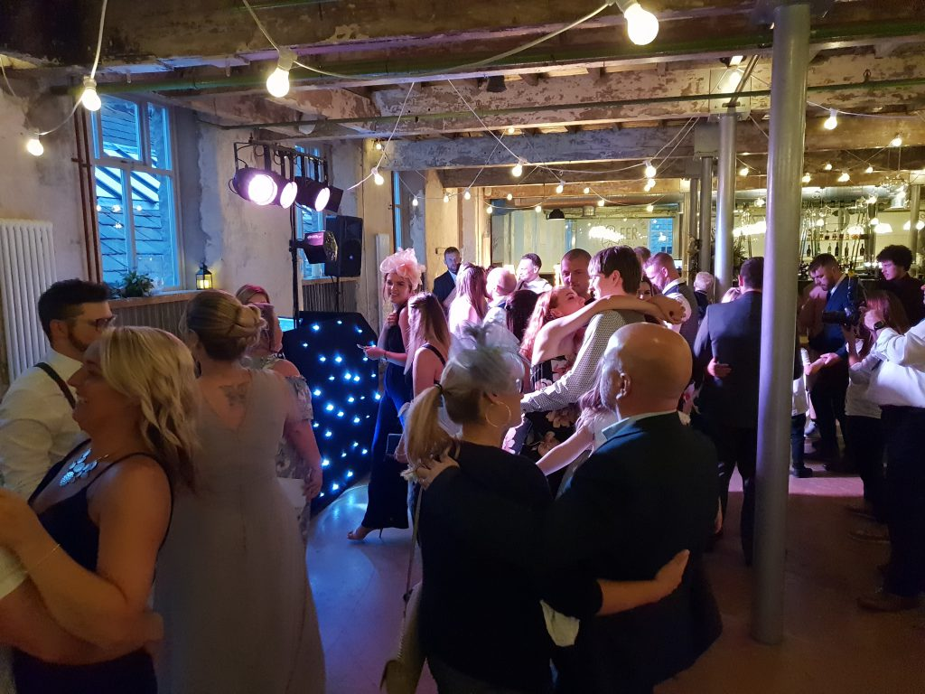 holmes mill wedding dj