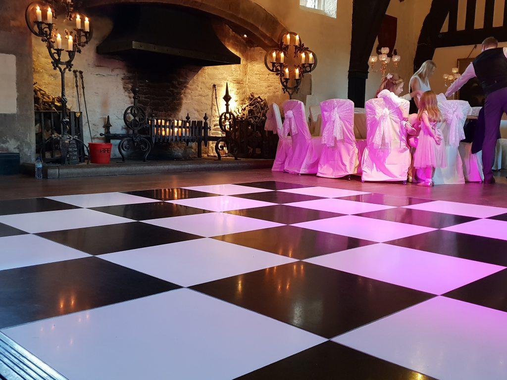 dance floor hire preston