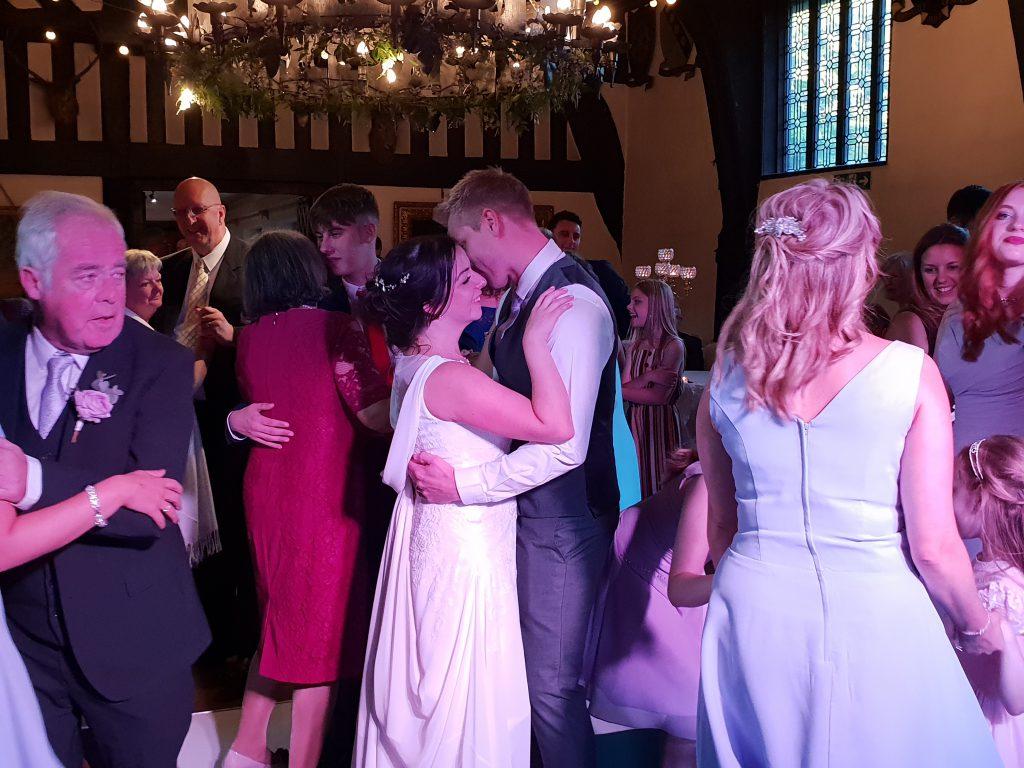 wedding disco samlesbury hall