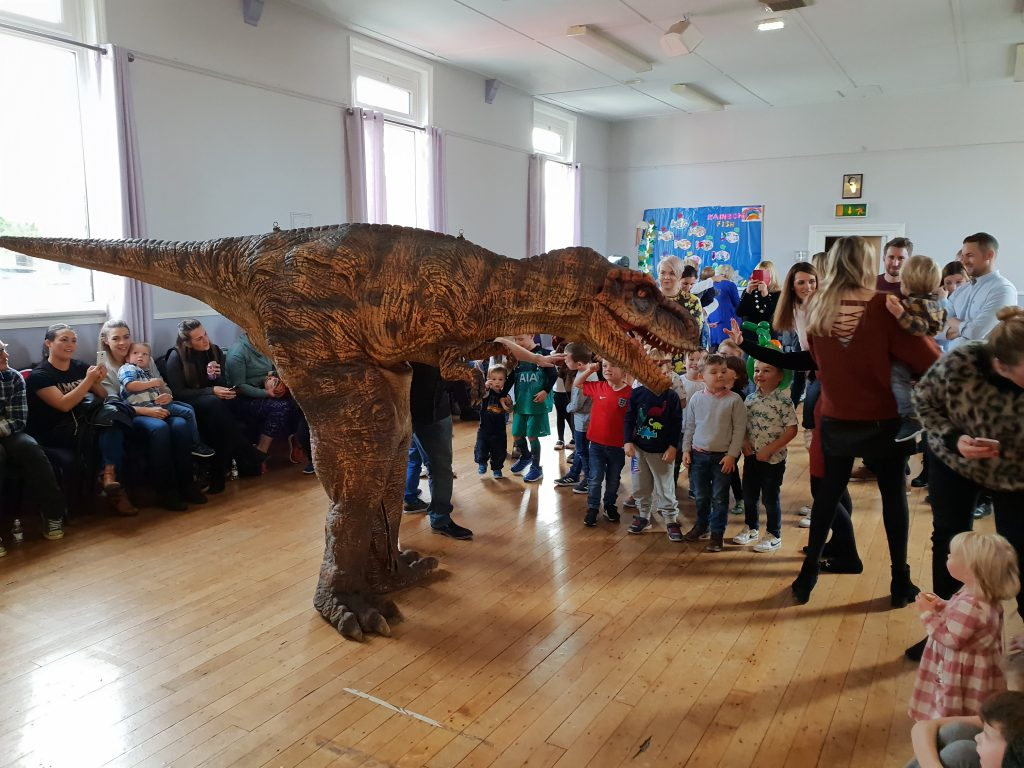 dinosaur hire lancashire