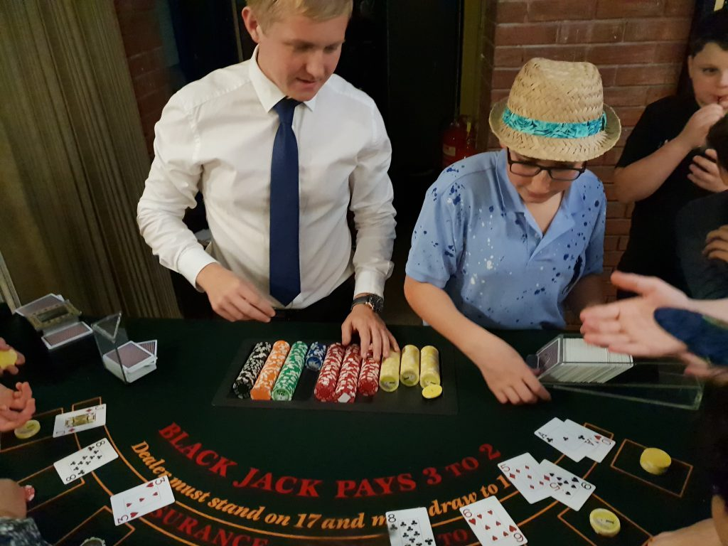 fun casino table hire