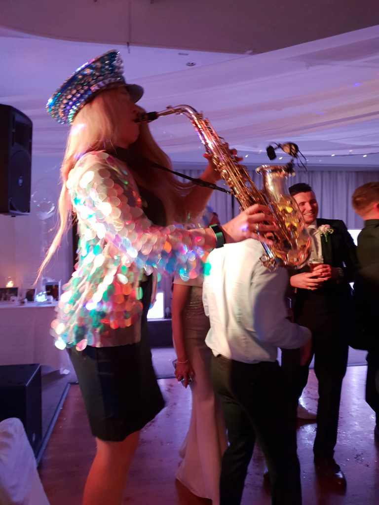 wedding saxophonist