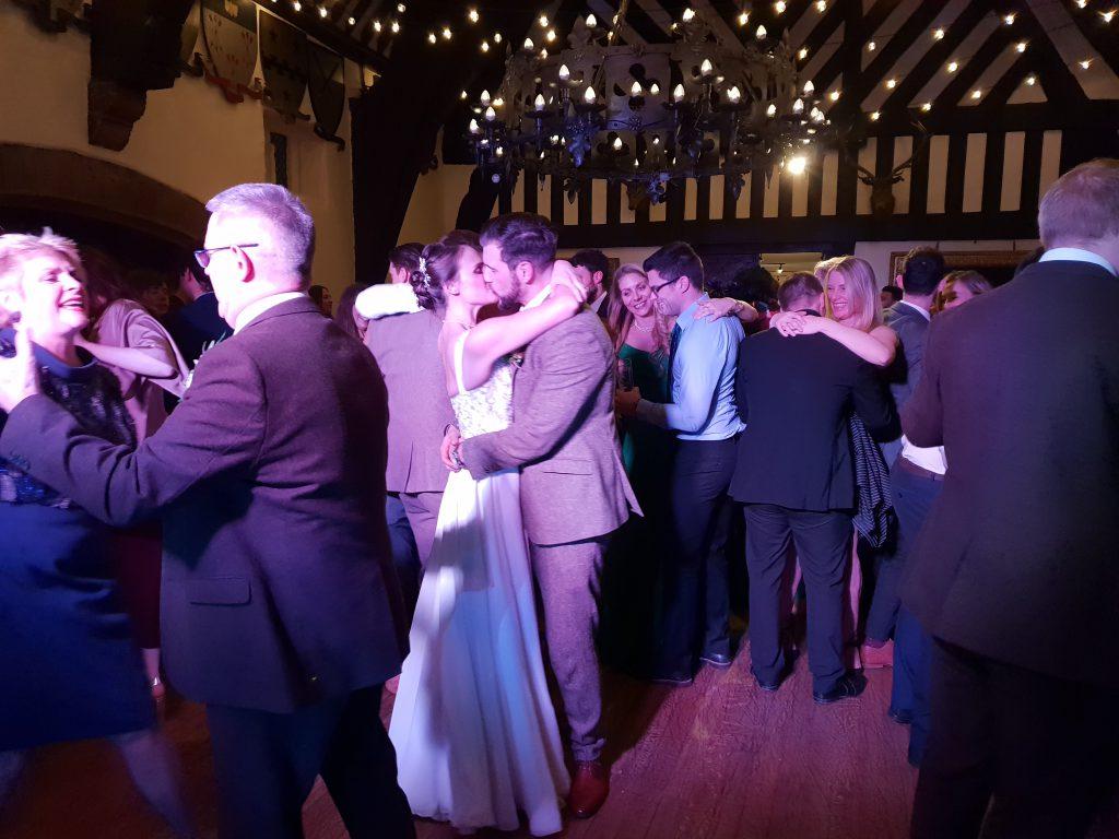 samlesbury hall wedding dj