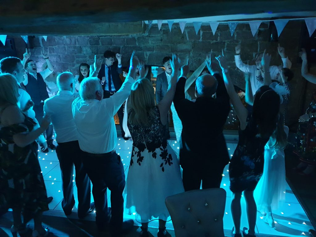 wedding dj hay loft liverpool