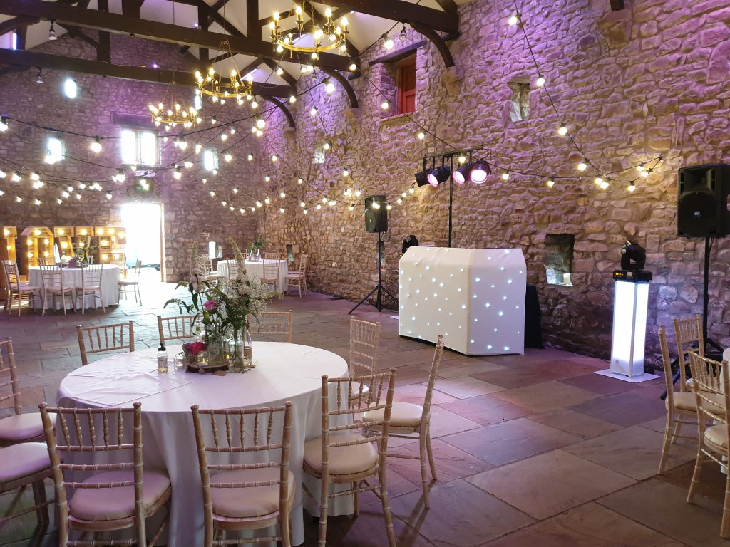 wedding dj browsholme hall