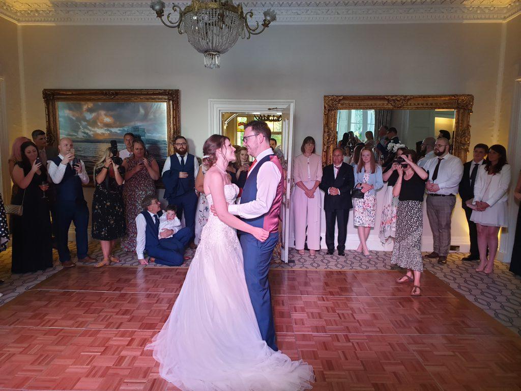 storrs hall wedding dj