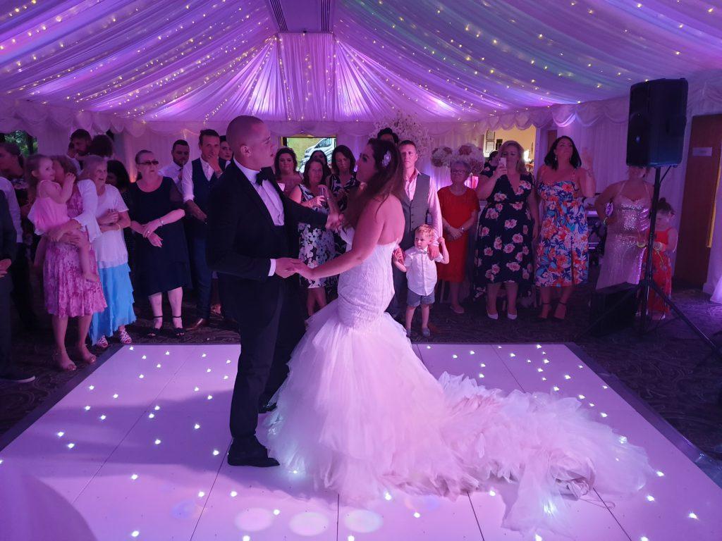 wedding dj villa levens