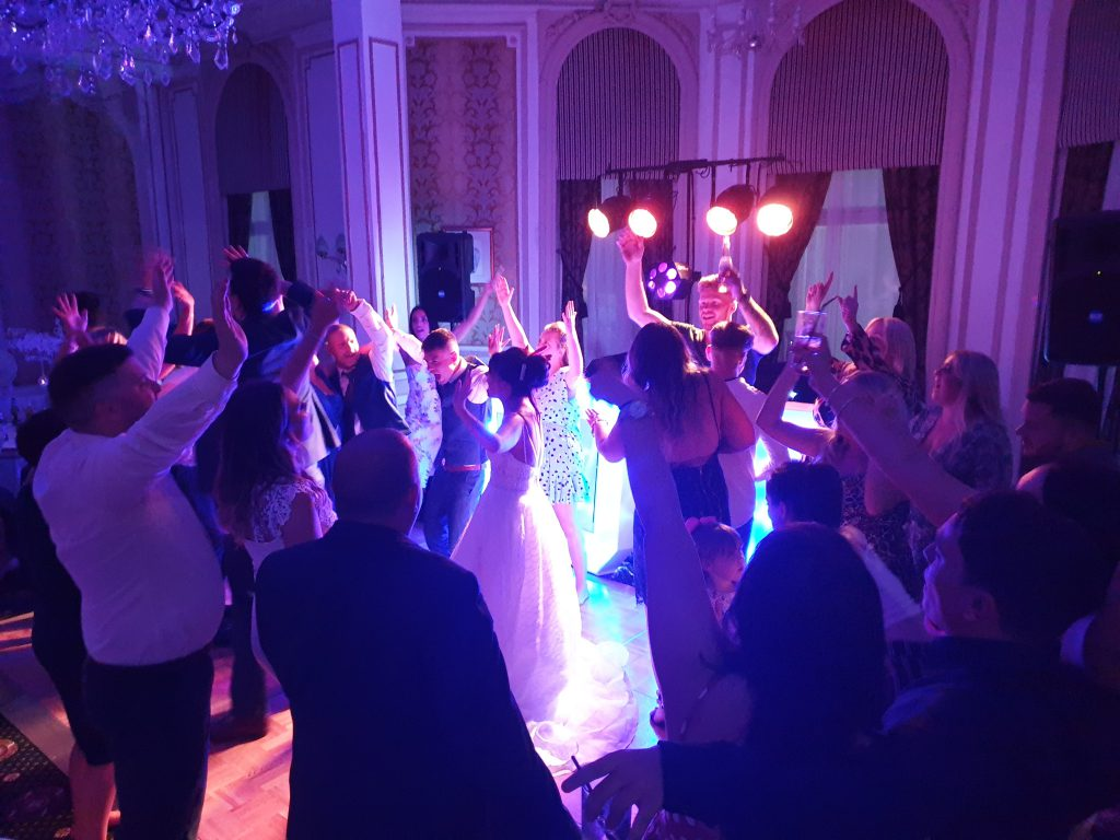 wedding party dj blackpool
