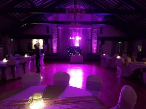 wedding dj set up mytton fold