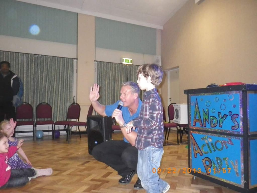 kids entertainer clitheroe