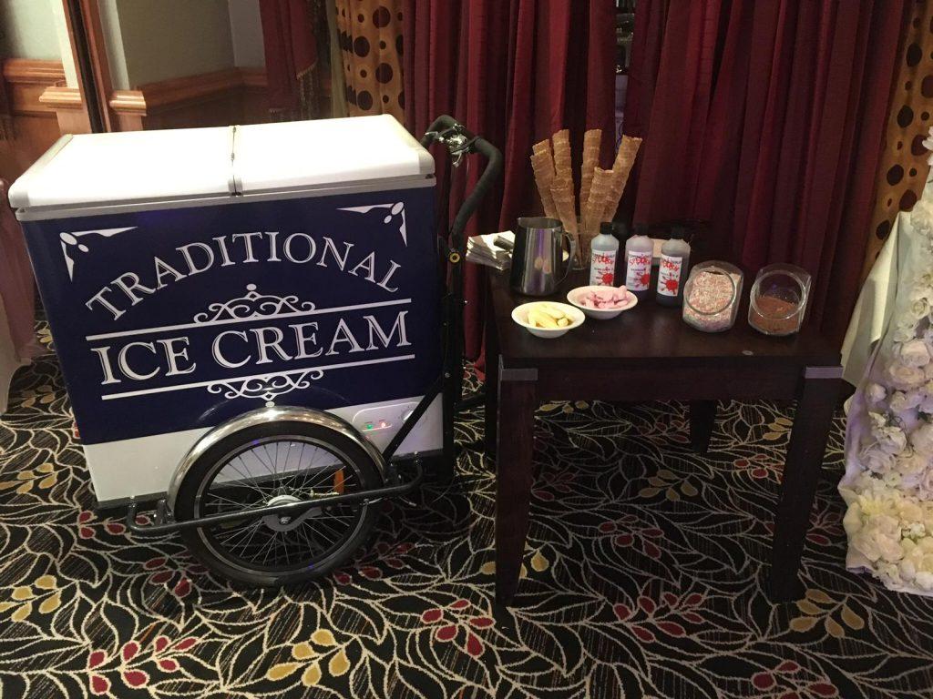 traditonal ice cream bike