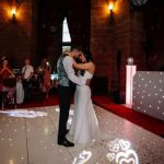 wedding dj peckforton castle