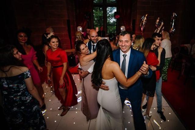 wedding party peckforton