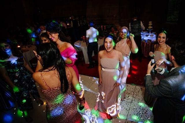 wedding disco peckforton castle