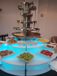chocolate fountain hire double flowing