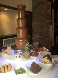 chocolate fountain hire large