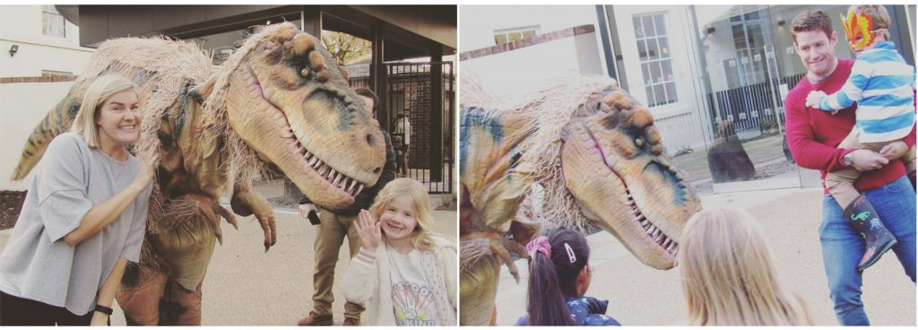 dinosaur hire manchester