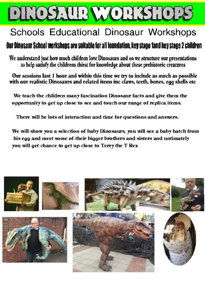 dinosaur workshop
