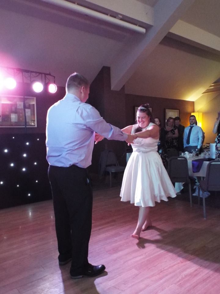 wedding dj castle green hotel kendal