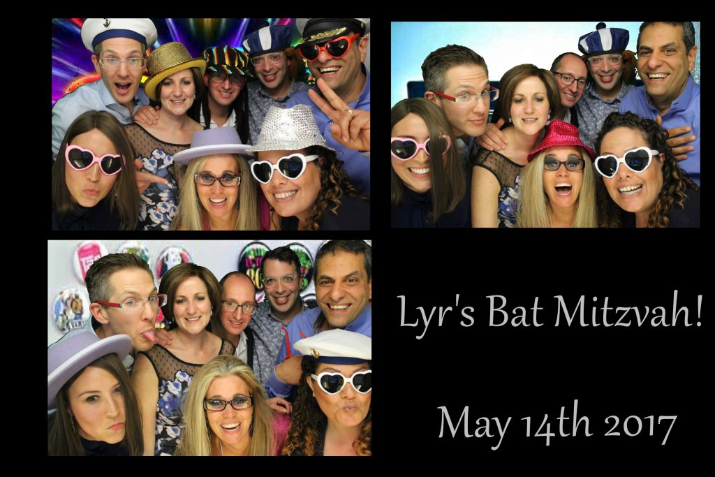 photo booth print bat mitzvah