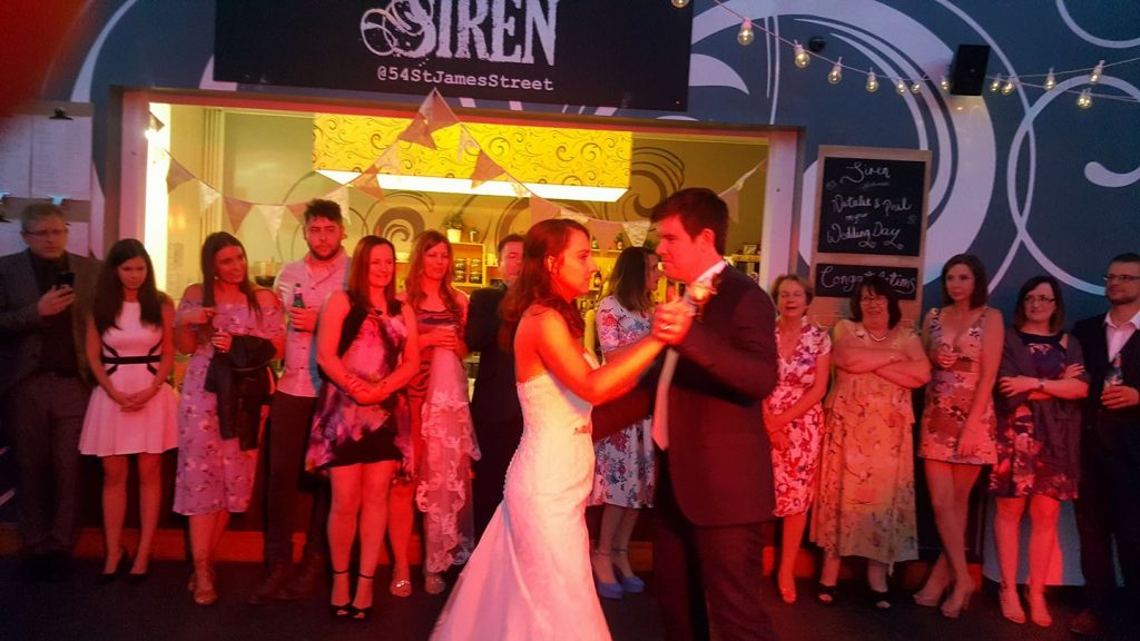 siren wedding dj liverpool