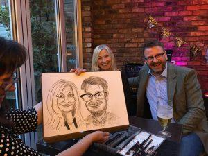 caricaturist hire lancashire