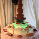chocolate fountain hire villa wrea green