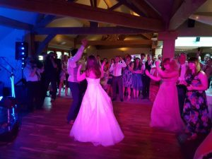 wedding dj white hart lydgate