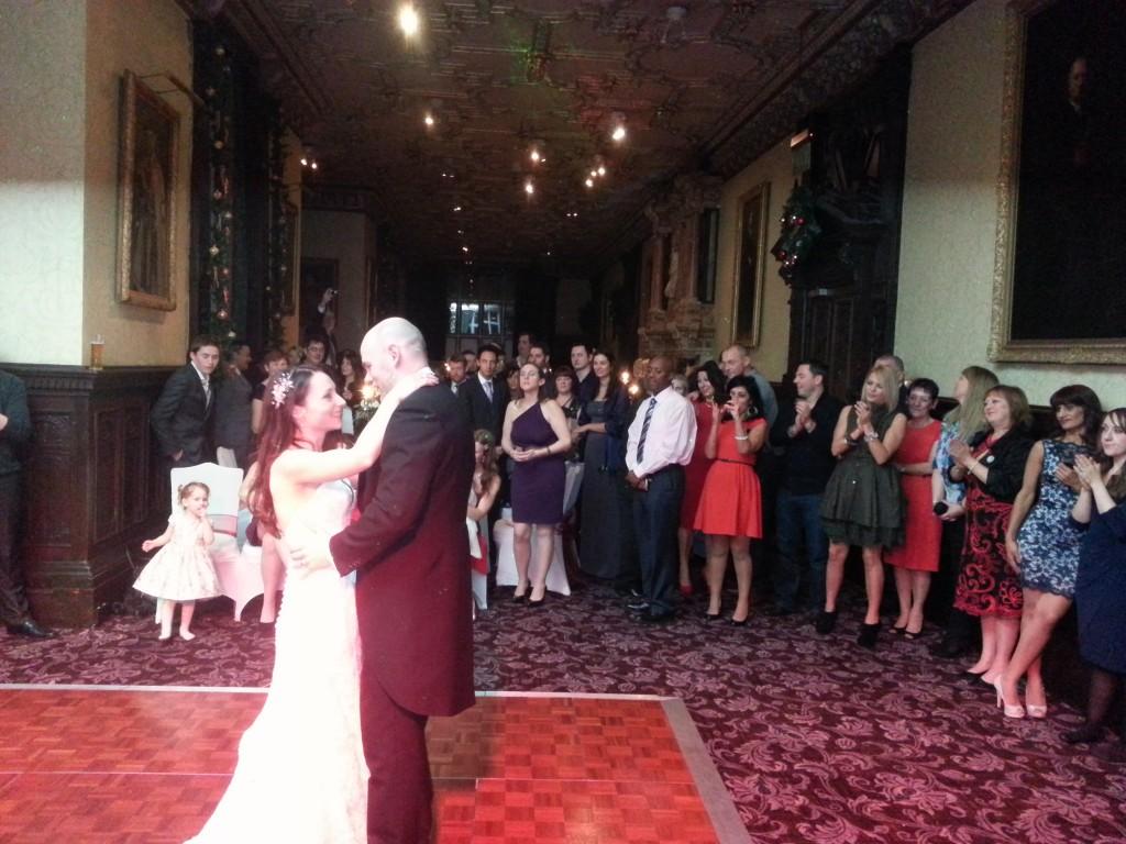 Wedding disco crewe hall