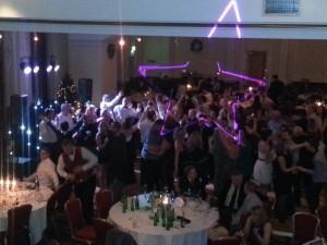 Dance floor rockin'!