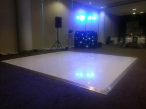 dance floor hire manchester