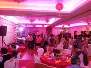 wedding dj glamorous chinese