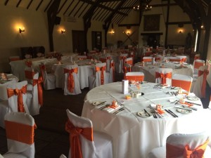 chair cover hire blackpool