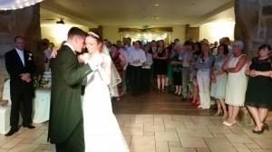 Mr & Mrs Warburton 8th August '15