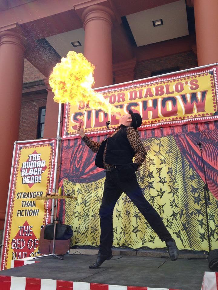 dr diablo sideshow act