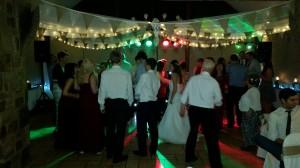 wedding party in full swing @ Beeston Manor