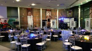 All set up ready to go in the National Football Museum