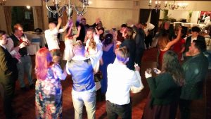 still dancing after the lights have come up & the bar shut!